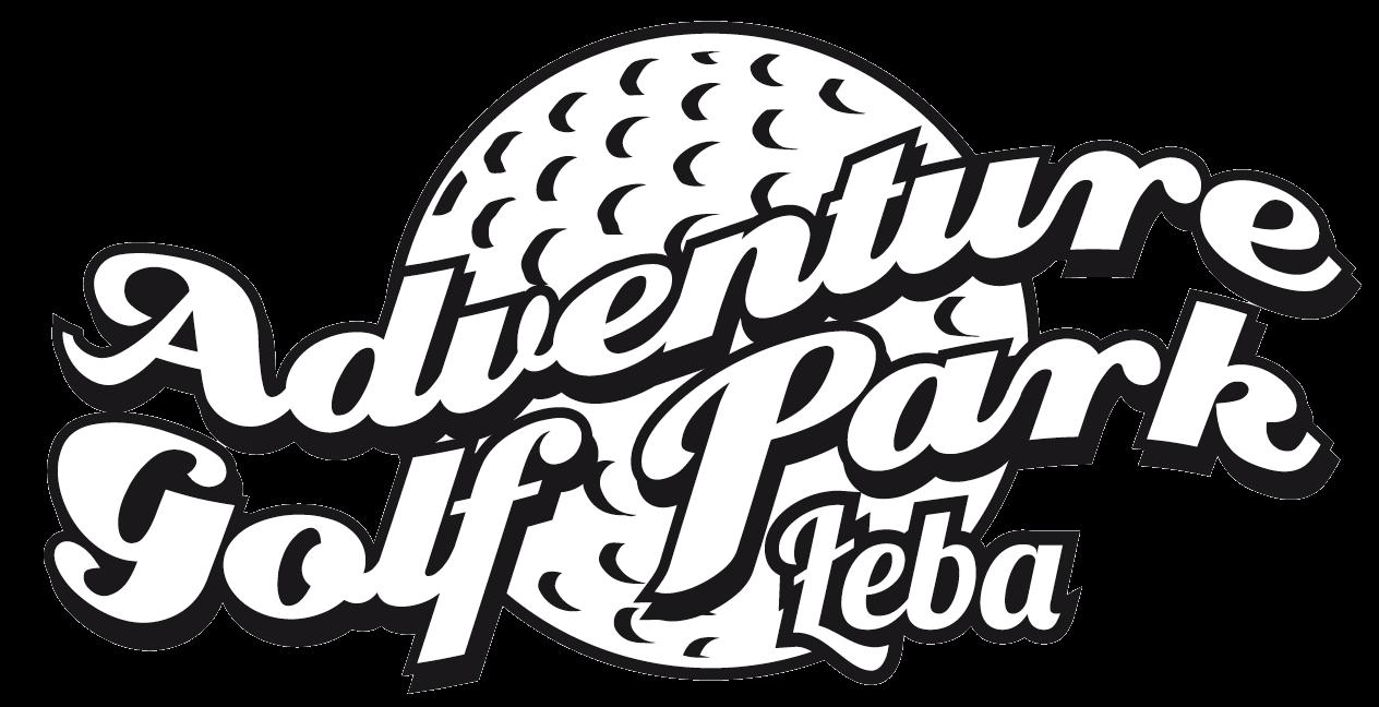 Logo monochromatyczne Adventure Golf Park