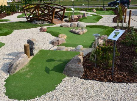 stanowiska adventure golf