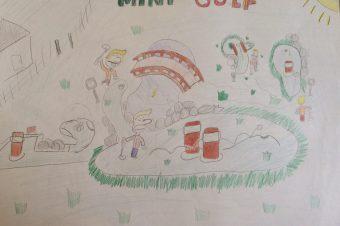 Adventure Golf Park oczami najmłodszych