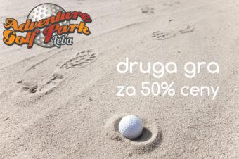 Druga gra w Adventure Golf Park za 50% ceny