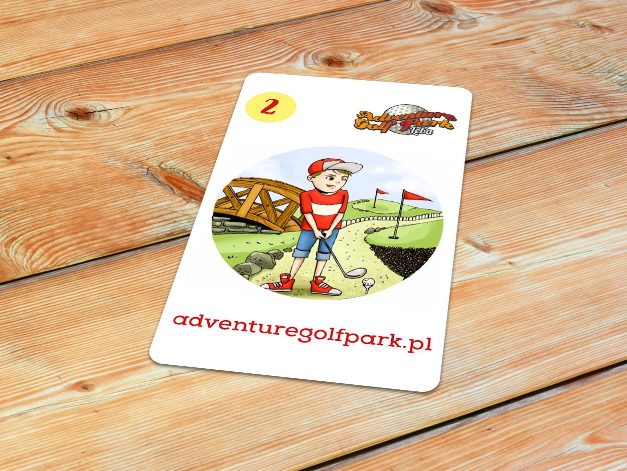 Adventure Golf Park karta Piotruś
