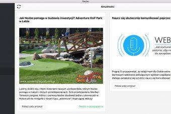 Jak Nozbe pomaga w budowie inwestycji? Adventure Golf Park w Łebie