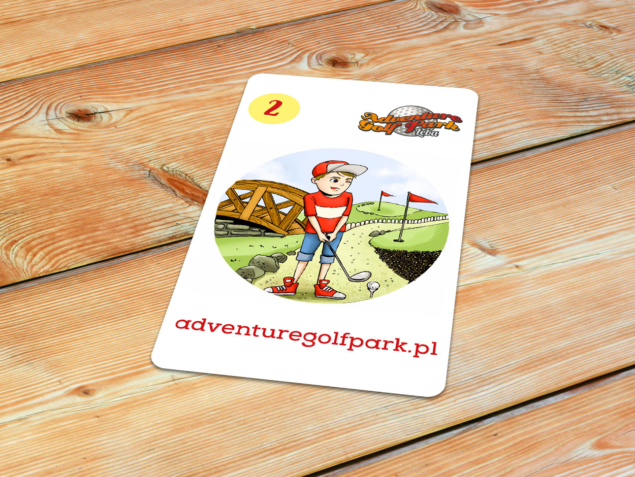 Adventure Golf Park karta Piotruś